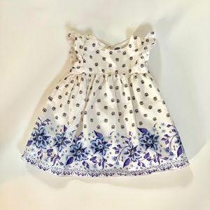 Old Navy Cotton Flutter Sleeve Dress
